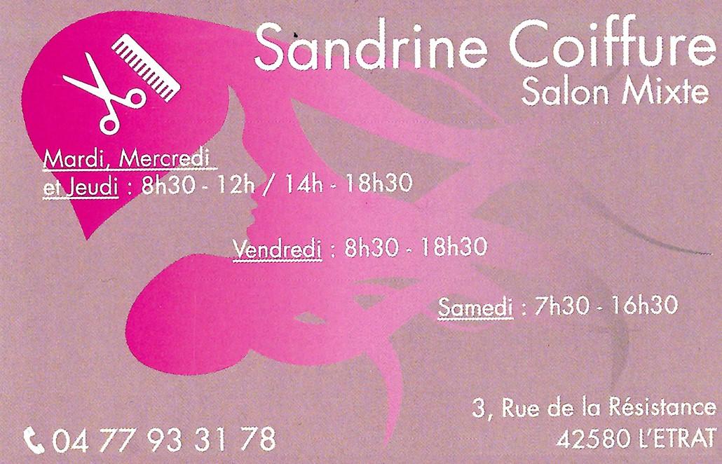 SANDRINE COIFFURE